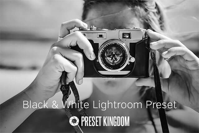 Free High Contrast Black White Lightroom Preset