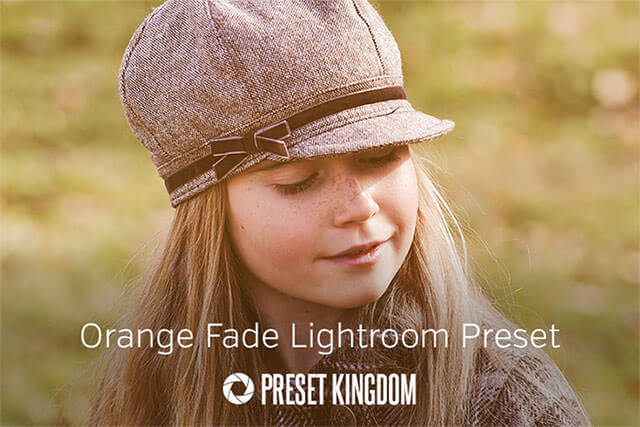Free Orange Fade Lightroom Preset