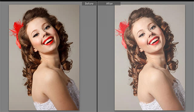 Soft Studio Portrait Lightroom Preset