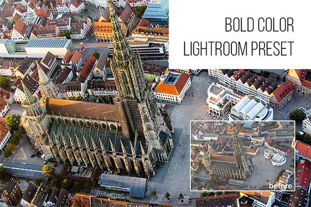 Bold Color: Free Lightroom Preset