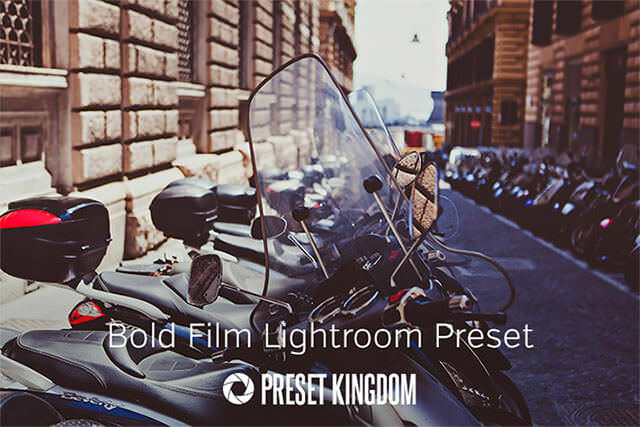 Free Bold Film LIghtroom Preset