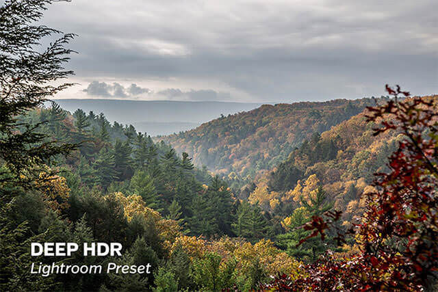 Free Deep HDR Lightroom Preset