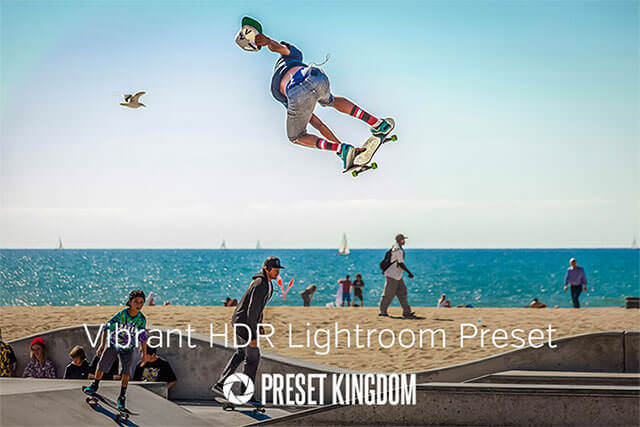 Free Vibrant Color HDR Lightroom Preset