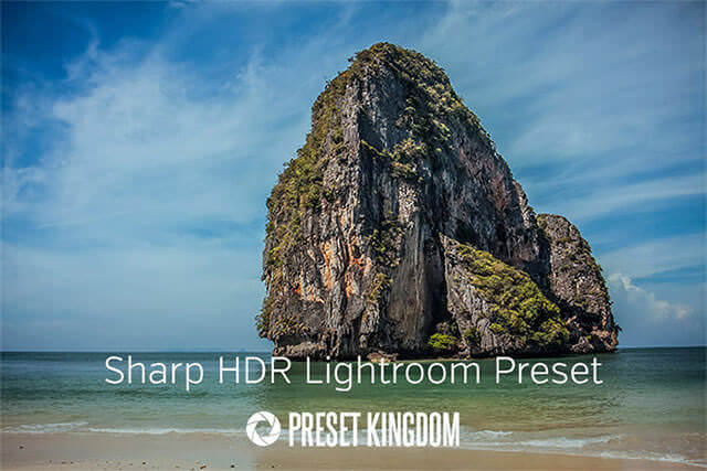 Free Sharp HDR Lightroom Effect