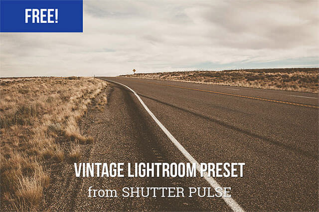 Free Vintage Lightroom Preset