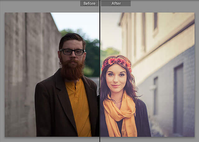 Free Warm Retro Lightroom Preset