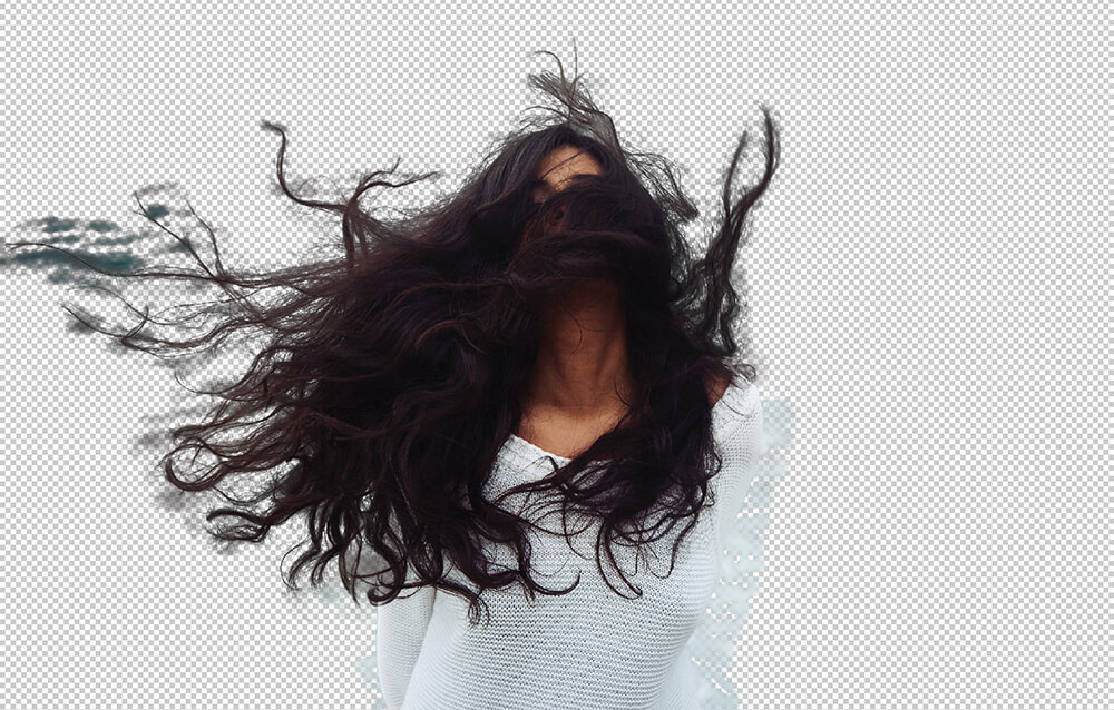 Photoshopで髪の毛など複雑な範囲を数分で切り抜く方法4