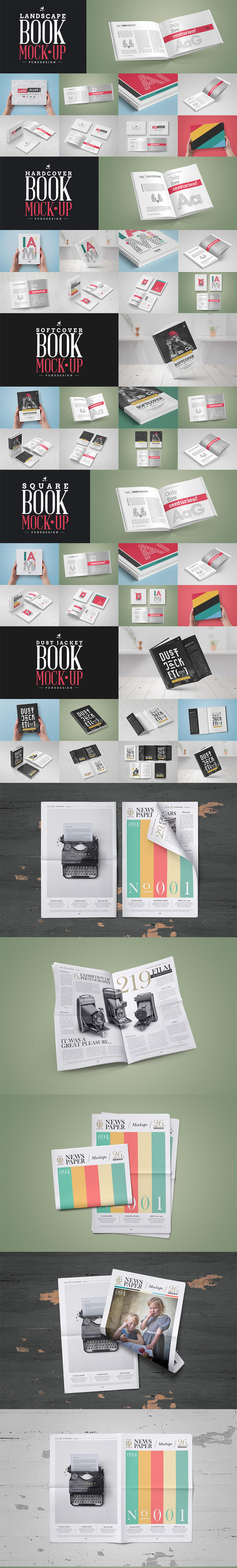 book mockup / dust jacket edition by pune design