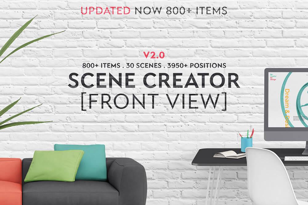 Scene Creator – Front View