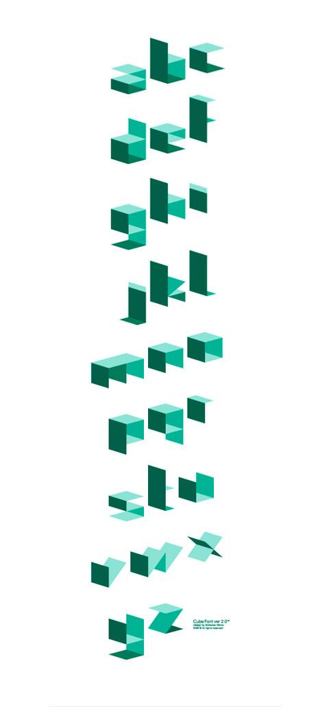cubefont1