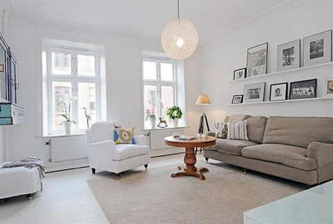 Modern old fashioned flat in sweeden 5