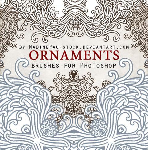 ornaments_by_nadinepau_stock