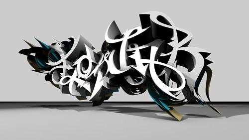 flowjob_3d_graffiti_by_urbancalligraphism