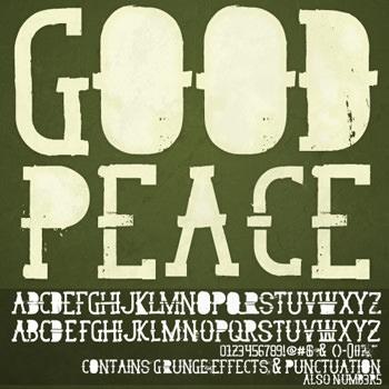 goodpeacefont