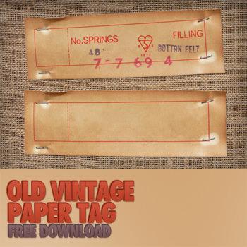 oldvintagepapertag1