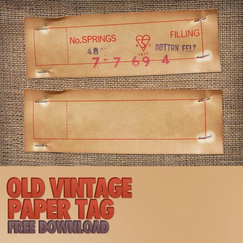 oldvintagepapertag11