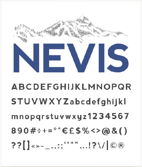 nevisfont1