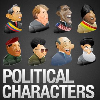 politicalcharctersicon