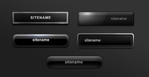 black-buttons-psd