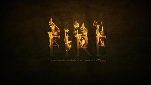 firetexteffect