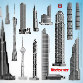 skyscrapervector