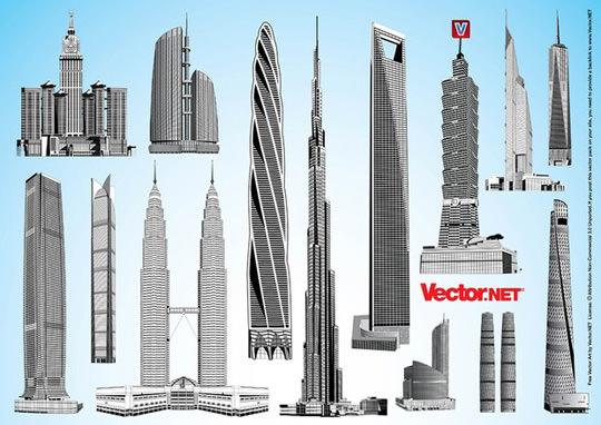 vector.net-free-vector-art-pack-31b-tallest-skyscrapers-m_big