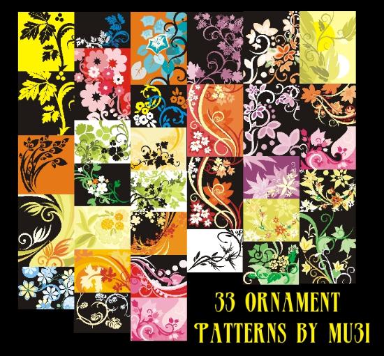 29-33_Ornament_Patterns_by_mu3i