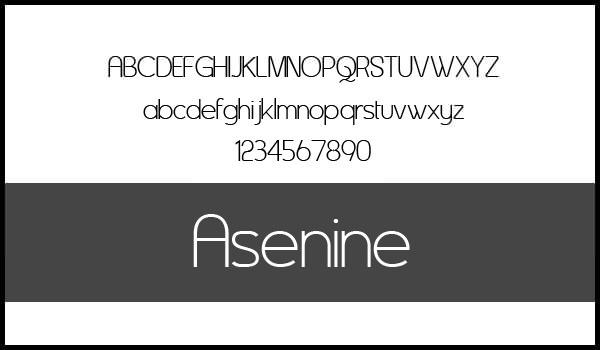 Asenine