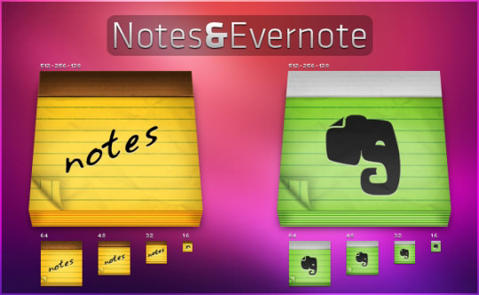 Notes-and-Evernote-Icon