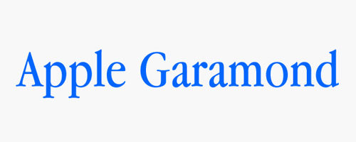 apple-garamond