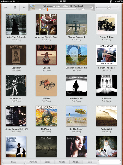Albums-View