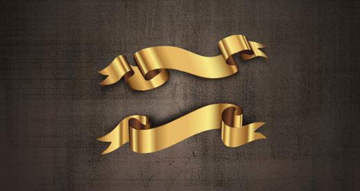 001-golden-banner-ribbon-vector-set