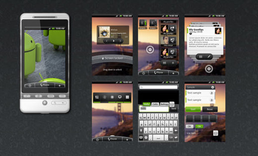 android-gui-set