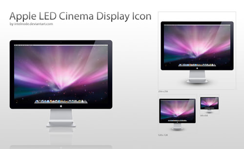 Apple_LED_24___Display_Icon_by_intelnode