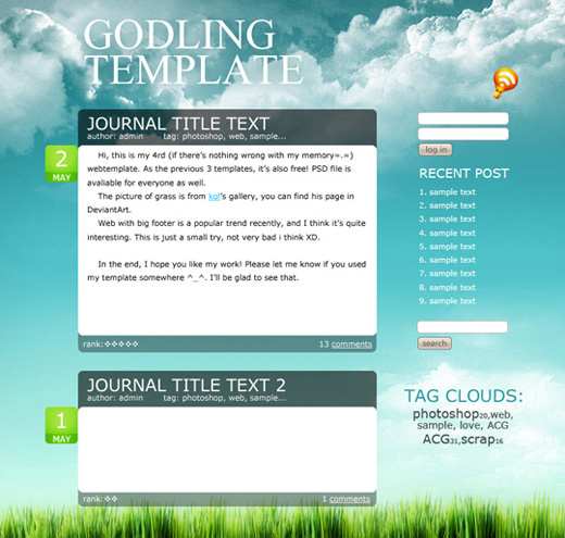 godling-template-psd