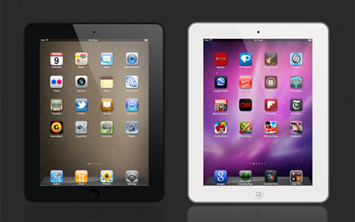 ipad_apple_psd
