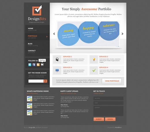 portfolio-psd-template