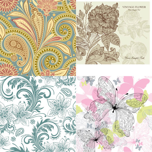 seamless-floral-backgrounds-vector