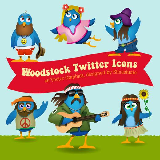 twitter-icon-set-woodstock