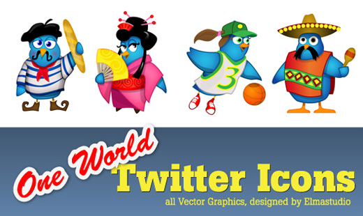 twittericons-one-world-details