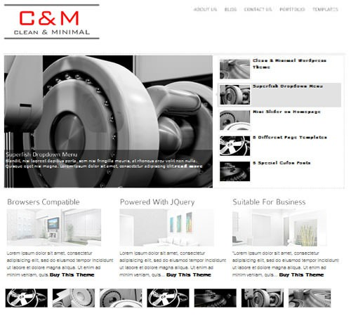 2-clean-minimal-wordpress-theme