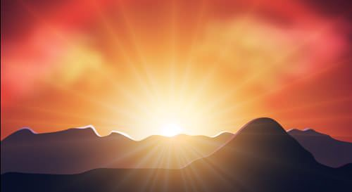 luminous_sunset