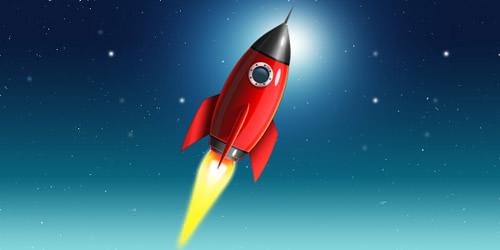 space-rocket-icon