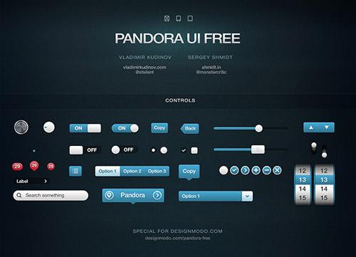 Pandora-UI-Free-Full-s