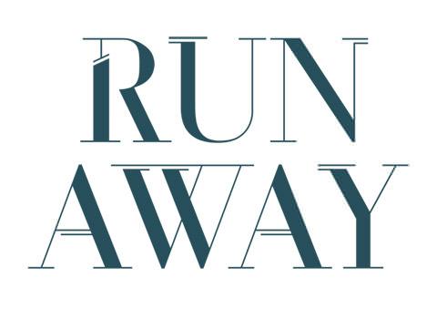 Run_Away_font_by_Oda_Sofie_Granholt