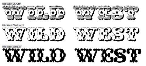 Wild-West-Font