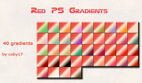 red-gradients