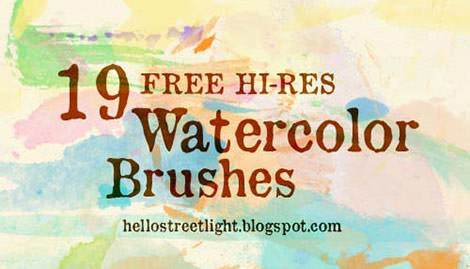 19.ink-and-watercolor-photoshop-brushes