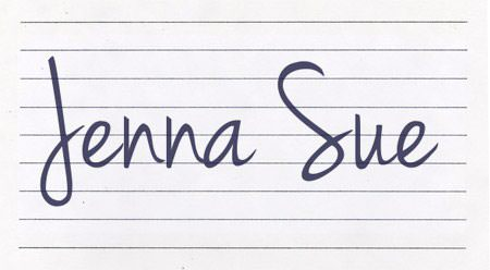 6handwritingfonts