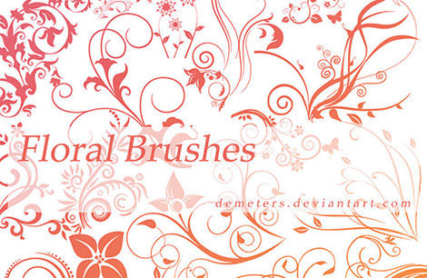 Floral_Brushes_Pack_1_by_demeters